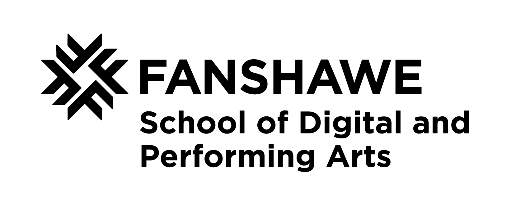 Fanshawe School of Digital and Performing Arts Logo